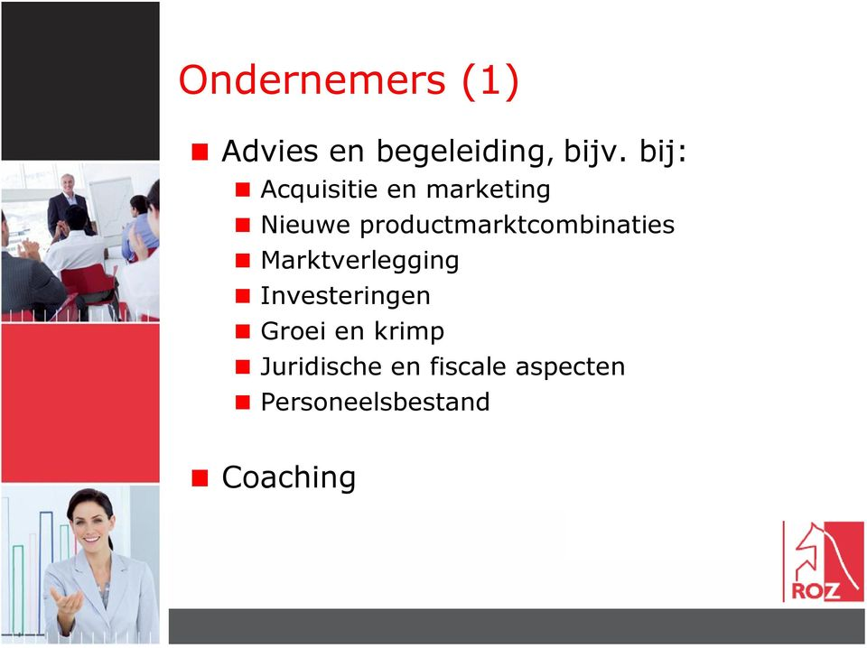 productmarktcombinaties Marktverlegging