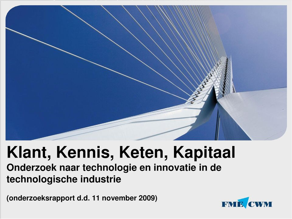 innovatie in de technologische