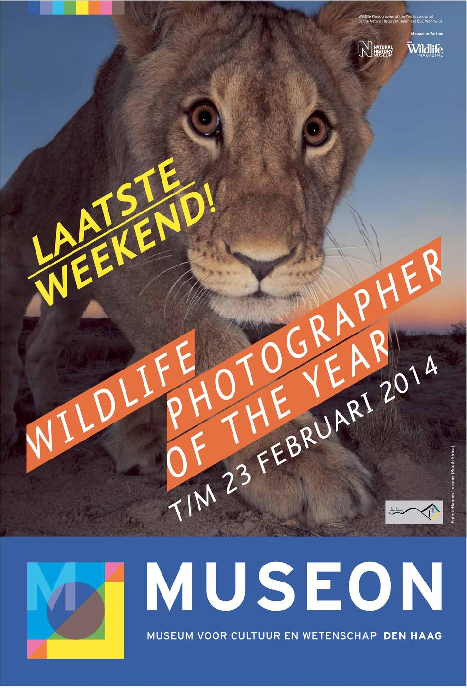 Worldwide. Magazine Partner LAATSTE WEEKEND!