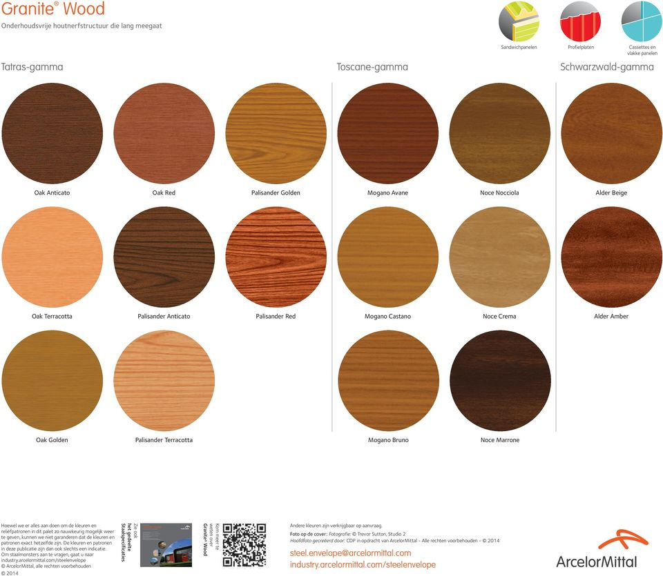 attractive wood finishes with easy assembly and minimal maintenance better fire reaction than actual wood long-term colour stability wide variety of wood types available with guaranteed