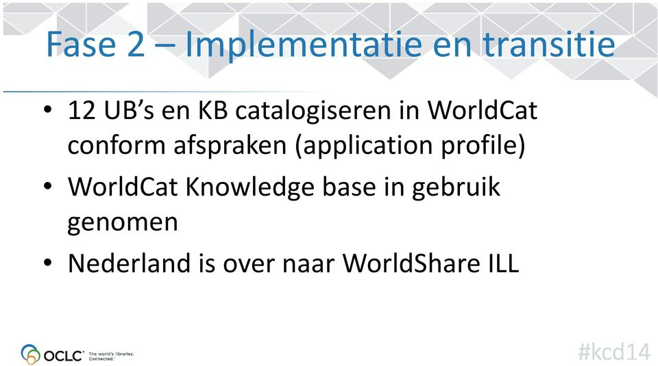 (application profile) WorldCatKnowledge base in