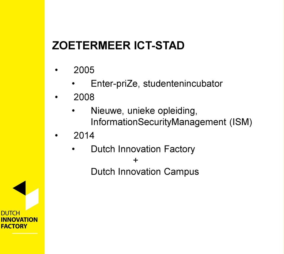 opleiding, InformationSecurityManagement