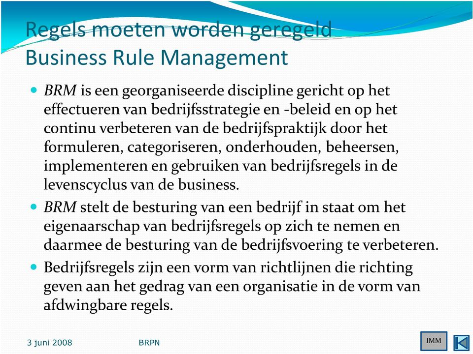 levenscyclus van de business.