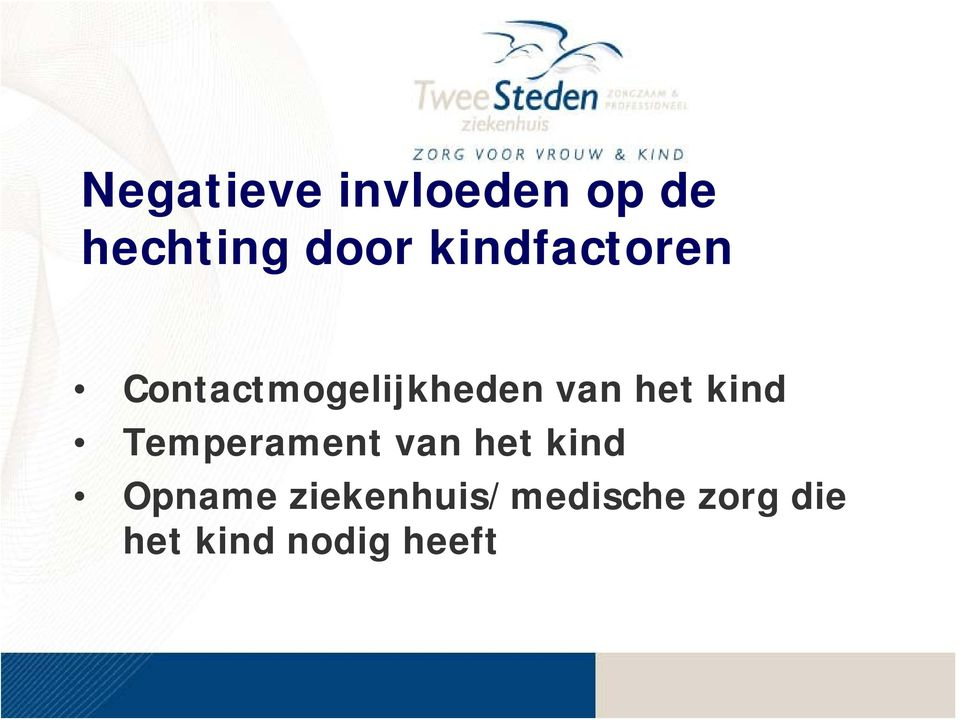 kind Temperament van het kind Opname