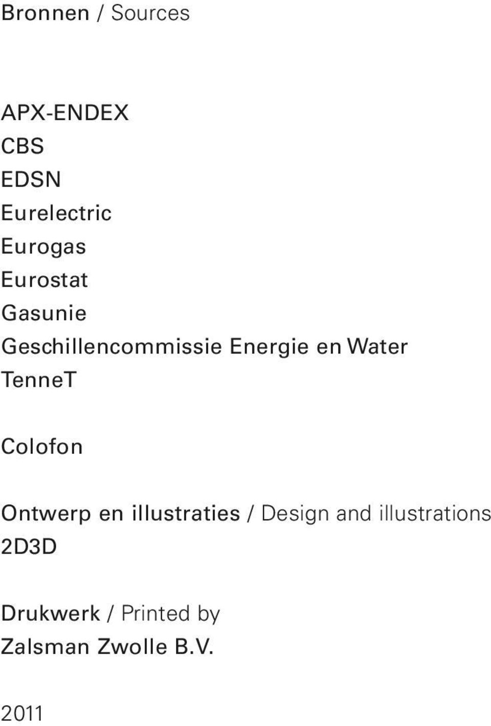 TenneT Colofon Ontwerp en illustraties / Design and