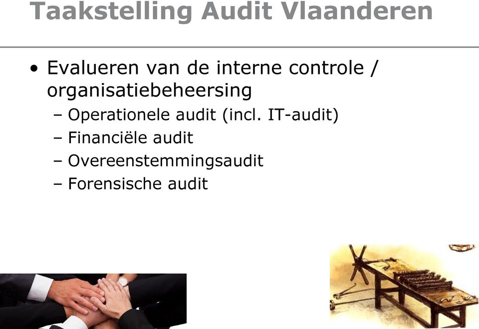 Operationele audit (incl.