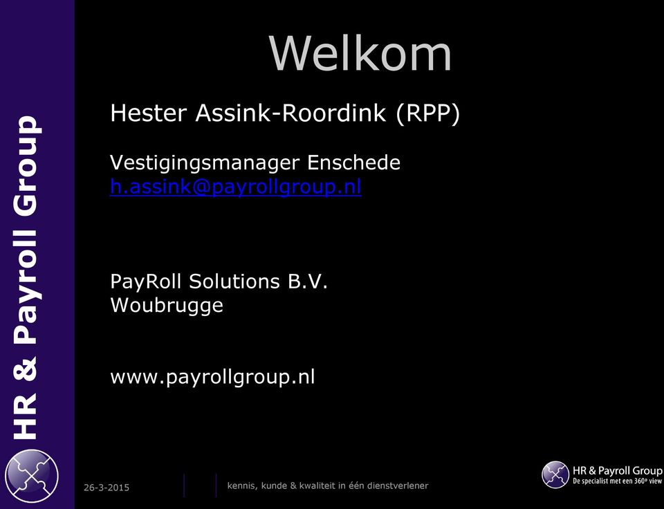 nl PayRoll Solutions B.V. Woubrugge www.