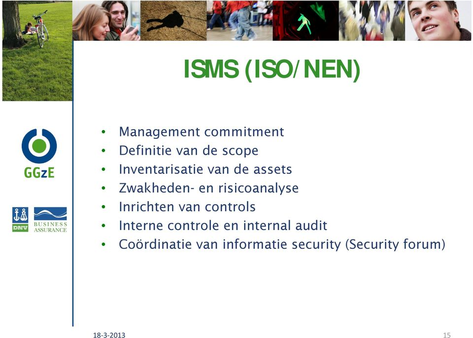 Inrichten van controls Interne controle en internal audit
