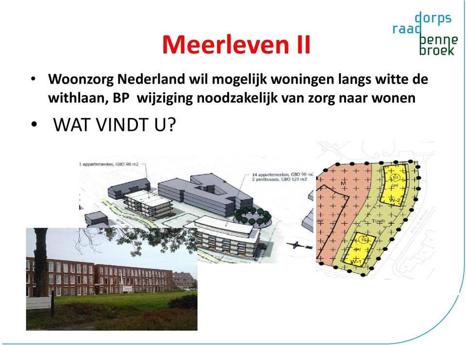 de withlaan, BP wijziging