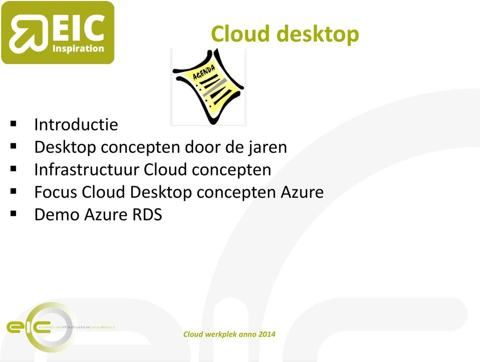Infrastructuur Cloud concepten