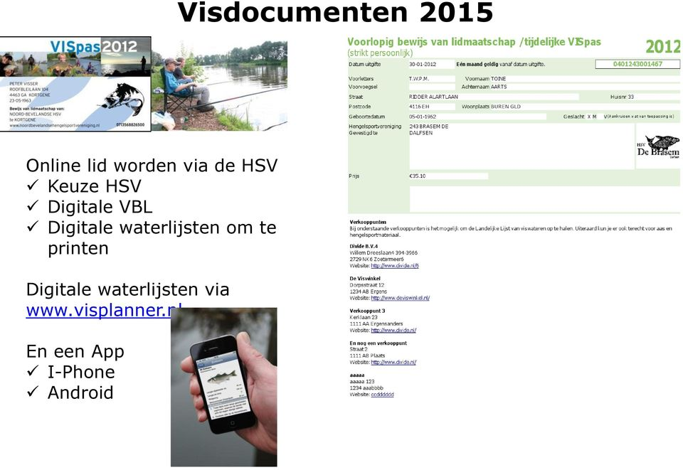 waterlijsten om te printen Digitale