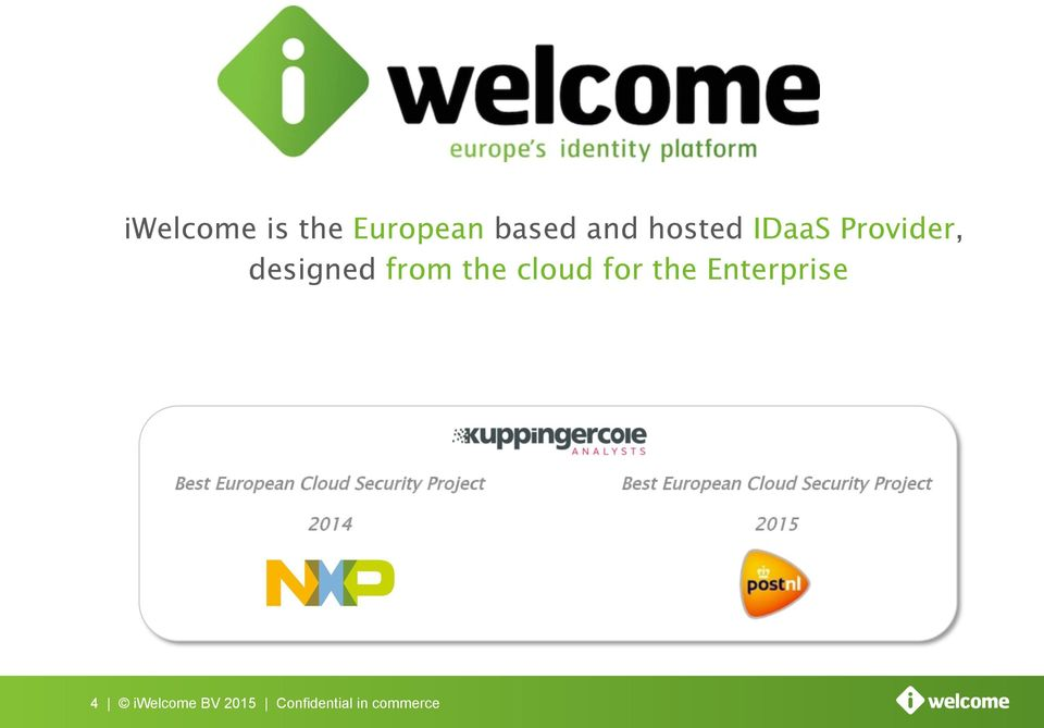 Best European Cloud Security Project 2014 Best European