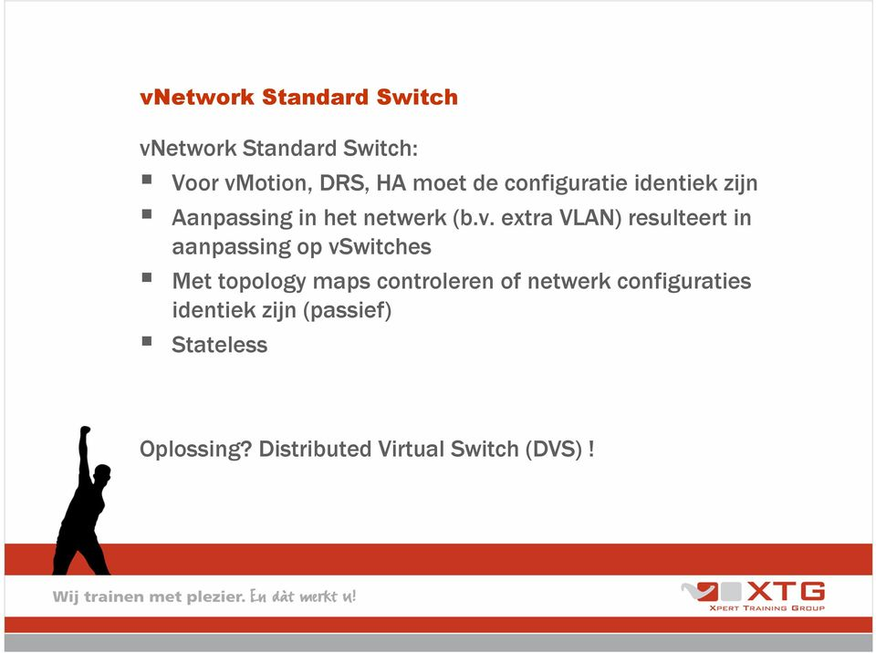 extra VLAN) resulteert in aanpassing op vswitches Met topology maps controleren