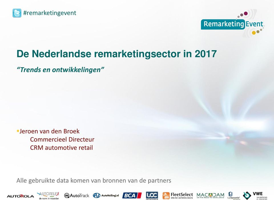 Broek Commercieel Directeur CRM automotive retail
