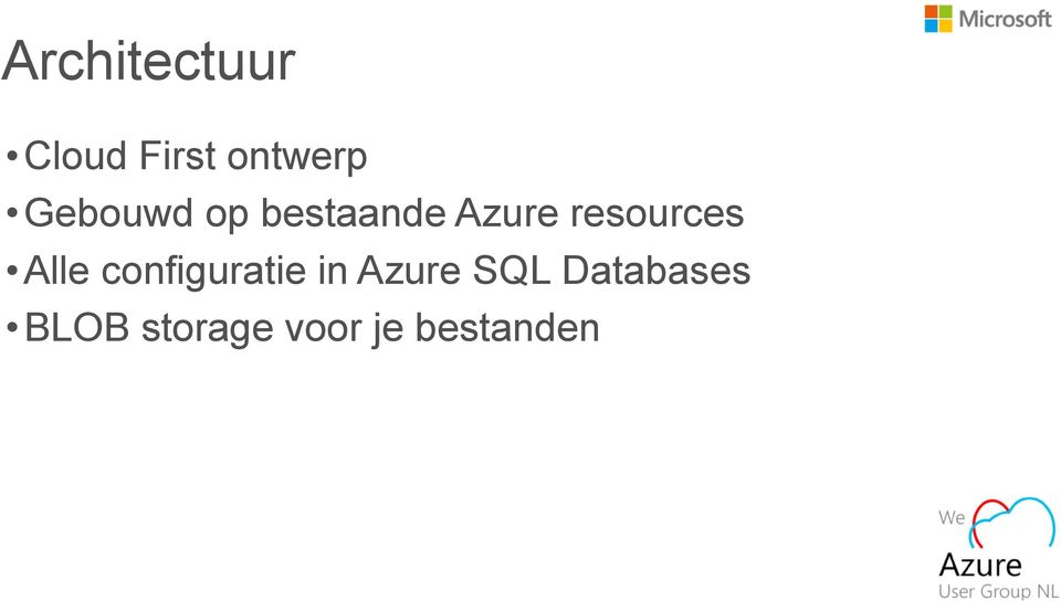 resources Alle configuratie in