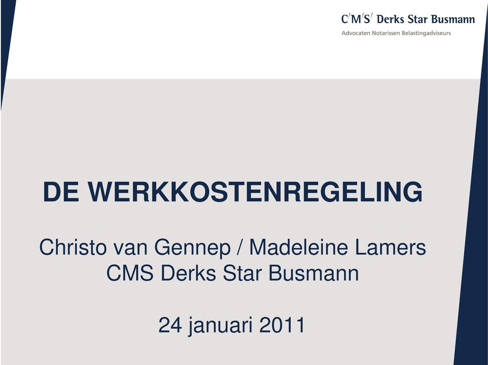 Madeleine Lamers CMS