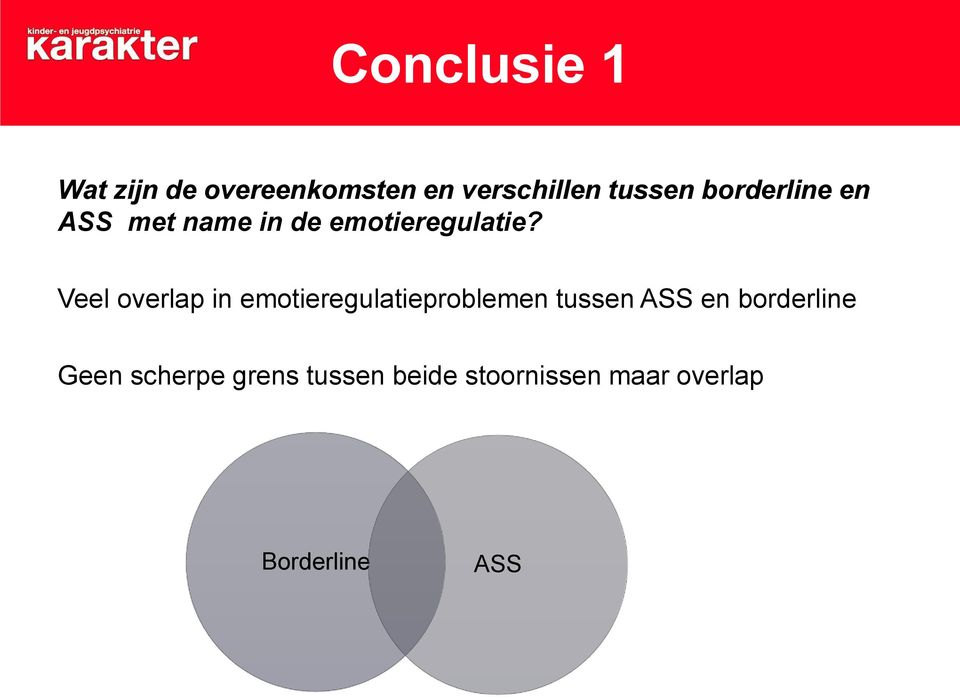 Veel overlap in emotieregulatieproblemen tussen ASS en