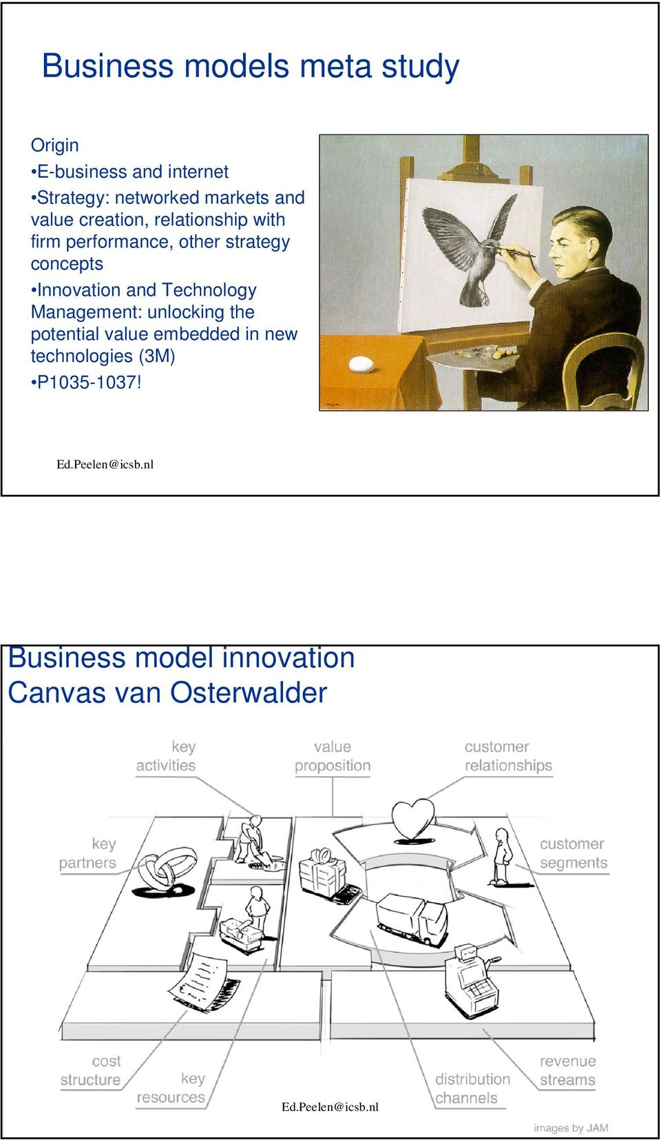 concepts Innovation and Technology Management: unlocking the potential value