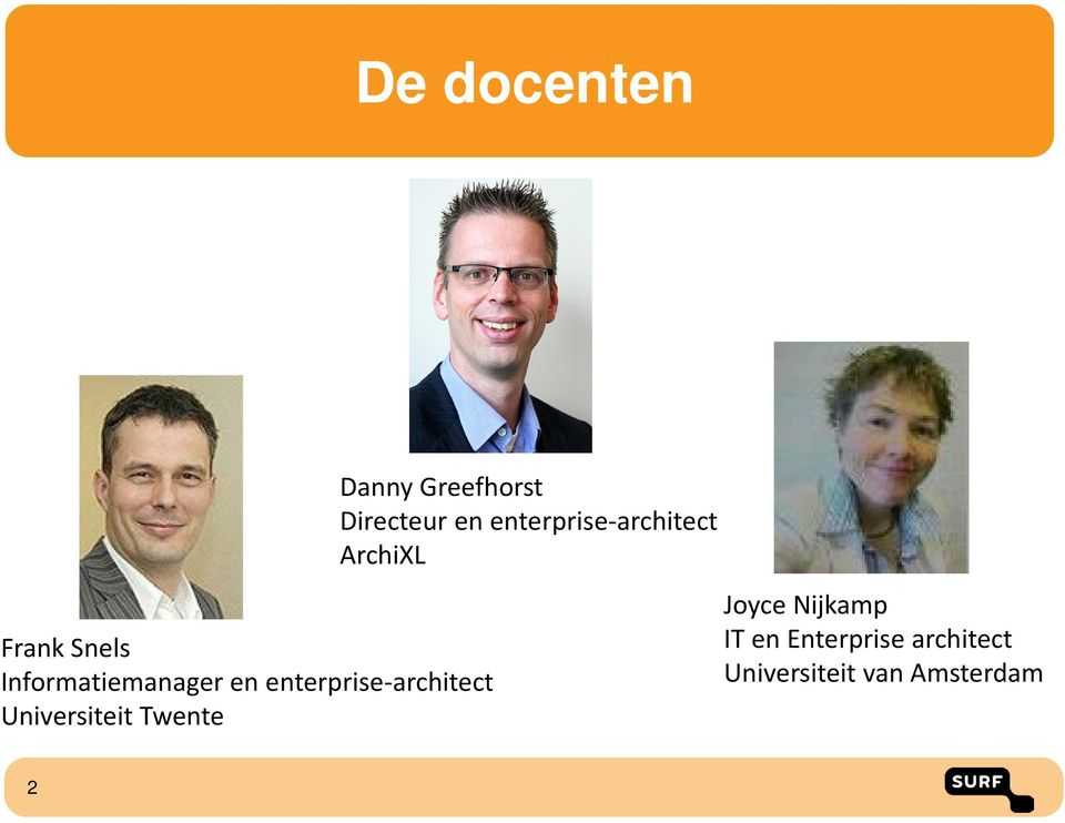 Greefhorst Directeur en enterprise-architect ArchiXL