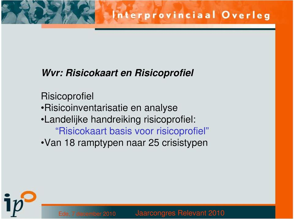 handreiking risicoprofiel: Risicokaart basis
