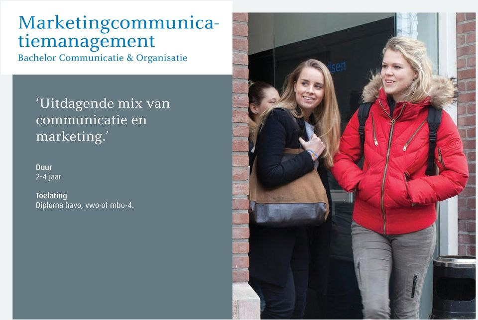 van communicatie en marketing.