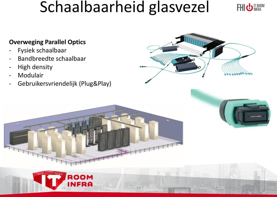 schaalbaar - High density - Modulair -