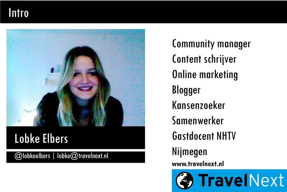 nl Community manager Content schrijver