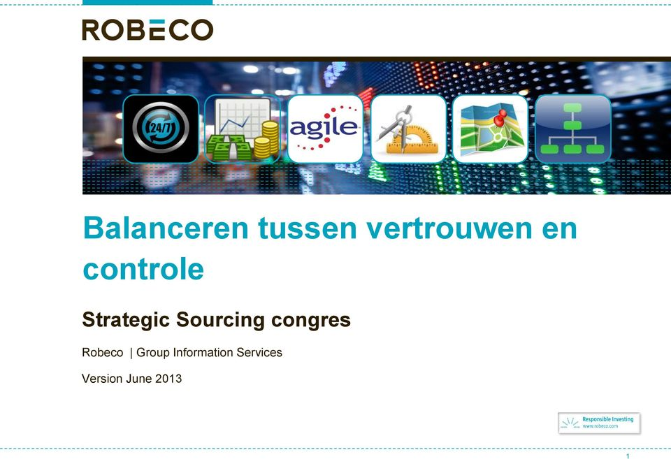 Robeco Group Information Services
