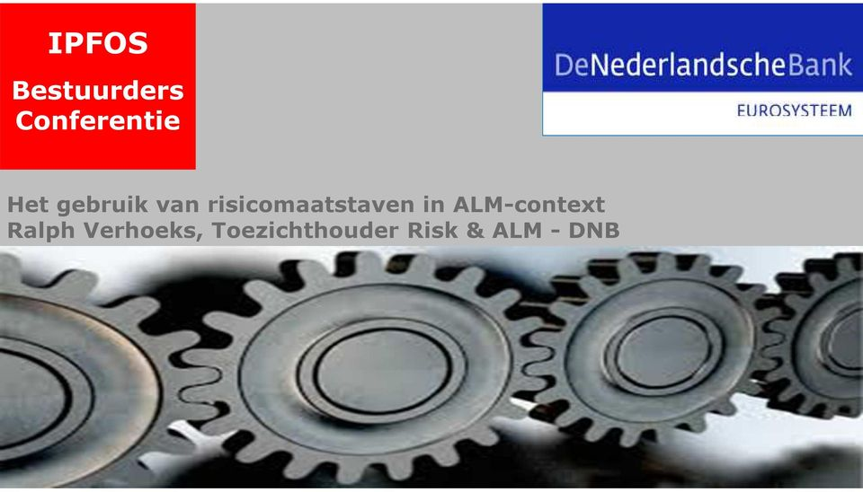 risicomaatstaven in ALM-context