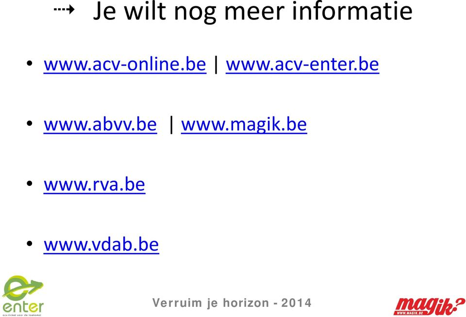 acv-enter.be www.abvv.