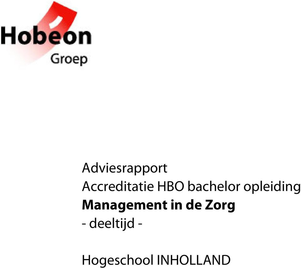 Management in de Zorg -