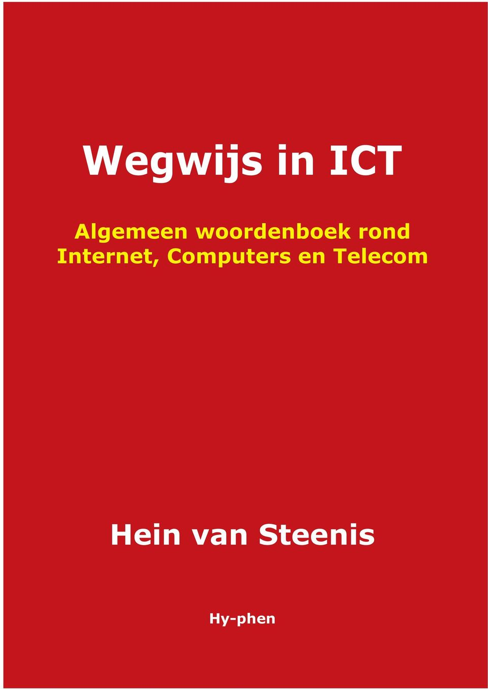 woordenboek Computers Telecom rond