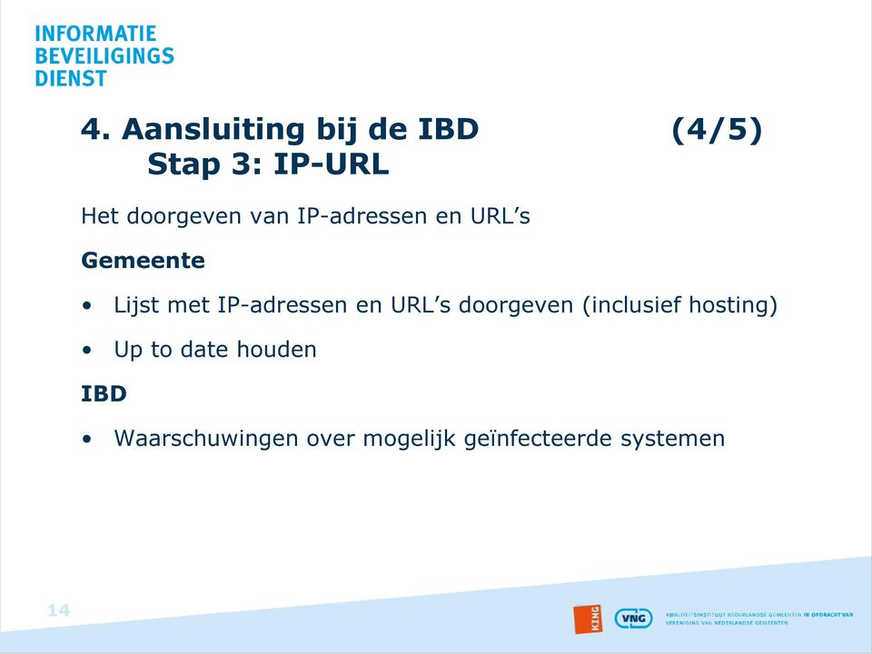 IP-adressen en URL s doorgeven (inclusief hosting) Up to