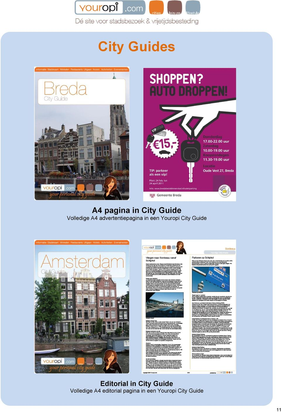 Youropi City Guide Editorial in City Guide
