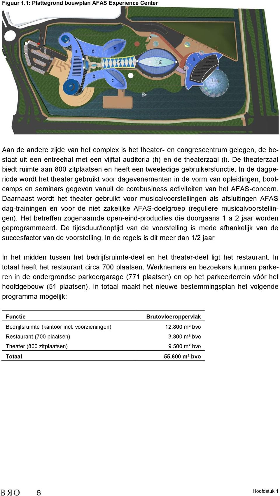 beatrix theater plattegrond