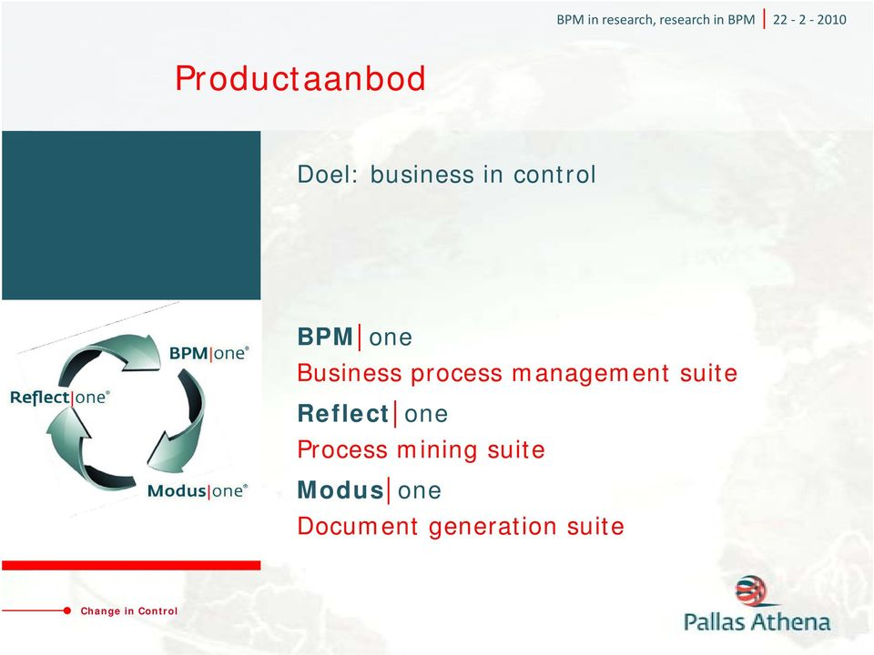 management suite Reflect one Process