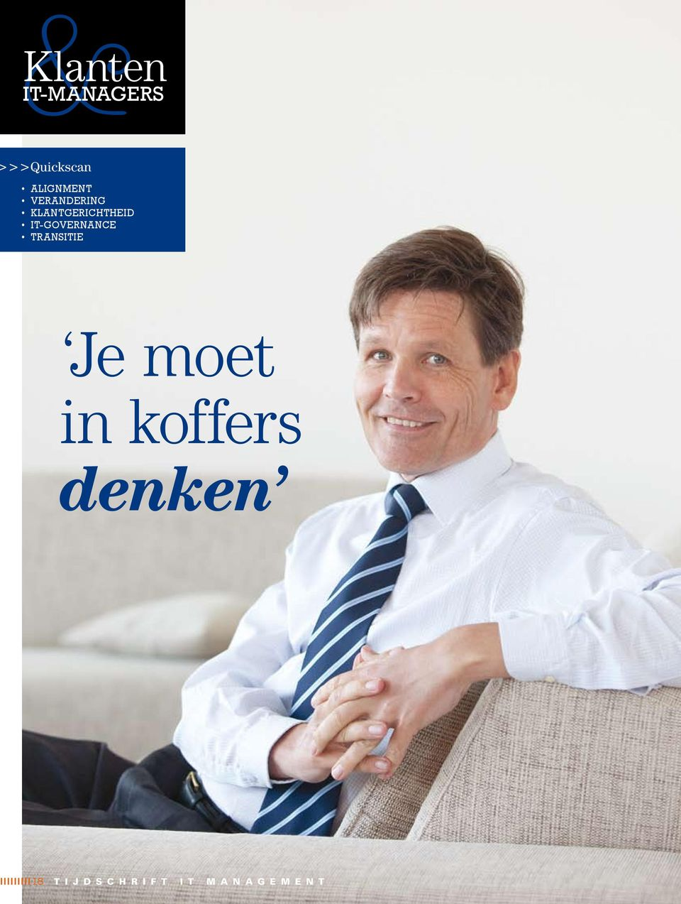 IT-governance Transitie Je moet in koffers