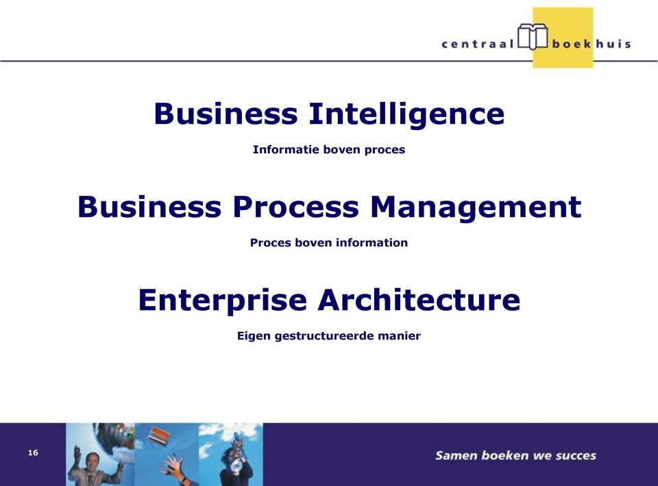Proces boven information Enterprise