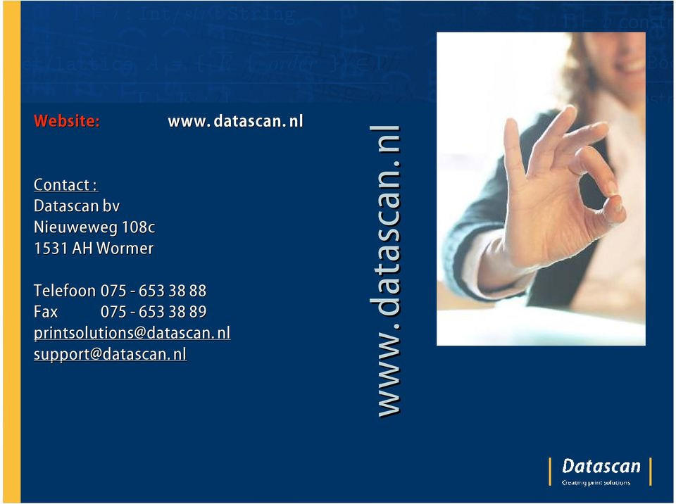 Fax 075-653 38 89 printsolutions@datascan.