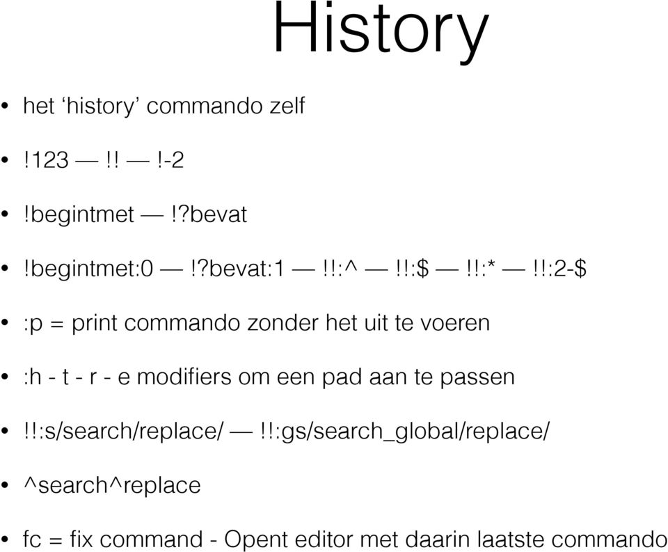 r - e modifiers om een pad aan te passen :s/search/replace/