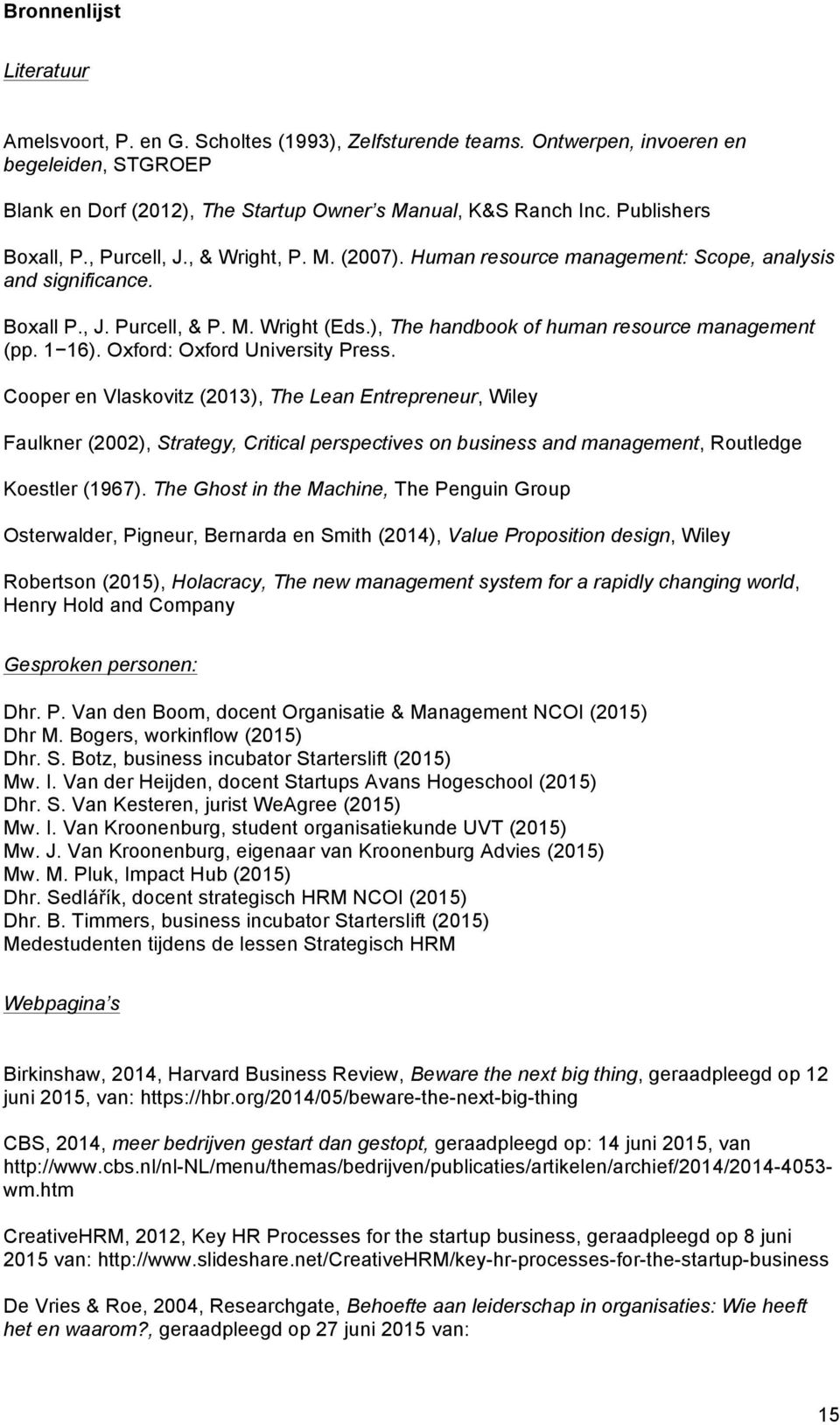 ), The handbook of human resource management (pp. 1 16). Oxford: Oxford University Press.