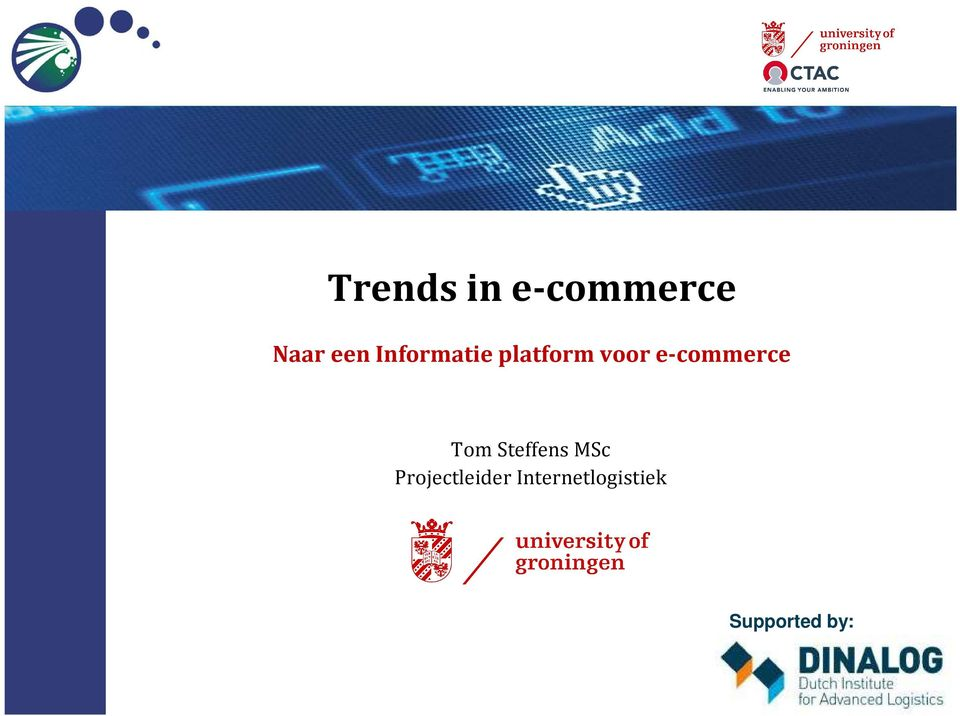 e-commerce Tom Steffens MSc