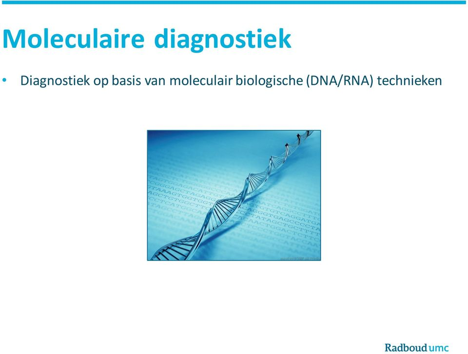 Diagnostiek op basis