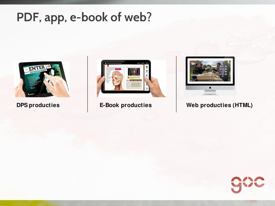 E-Book producties