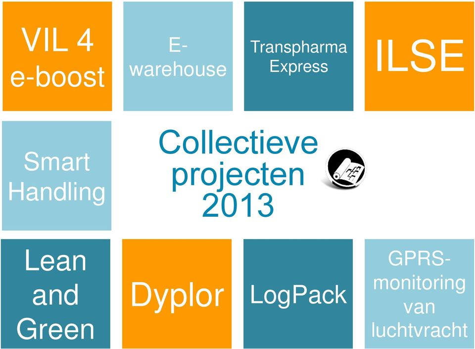 Collectieve projecten 2013 Lean and