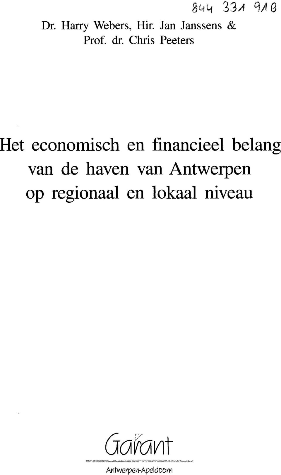 financieel belang van de haven van