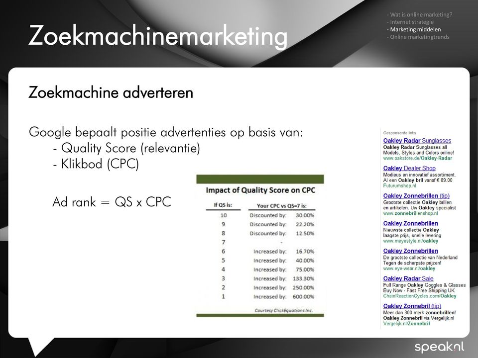 advertenties op basis van: - Quality