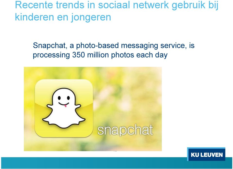Snapchat, a pht-based messaging