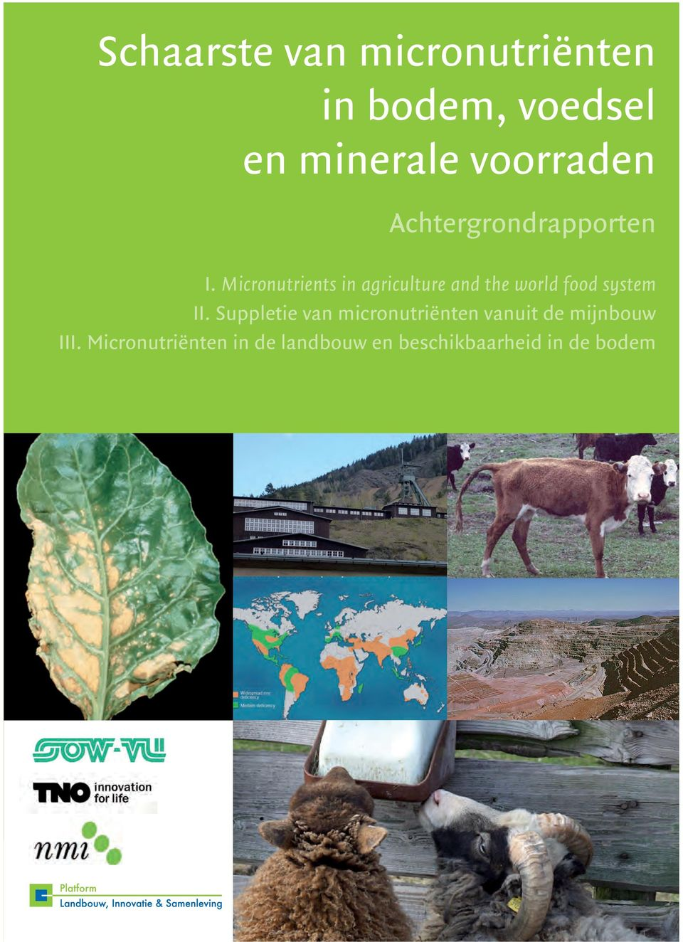 Micronutrients in agriculture and the world food system II.