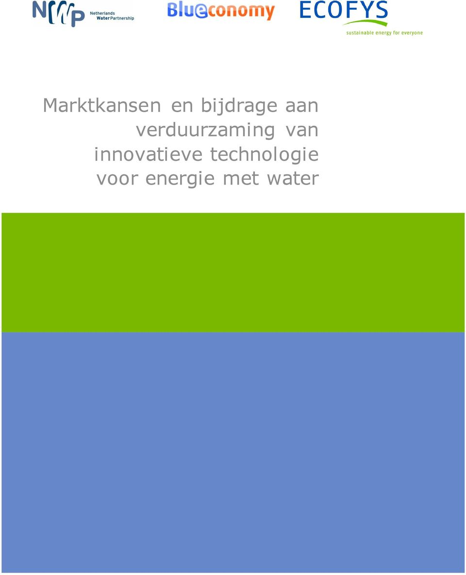innovatieve technologie